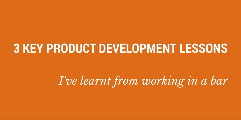 product development lessons