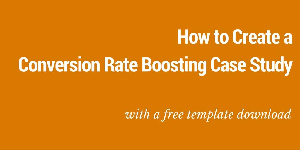 conversion rate optimisation case study