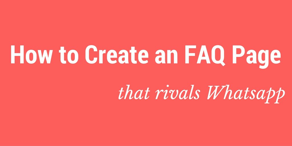 best faq page examples