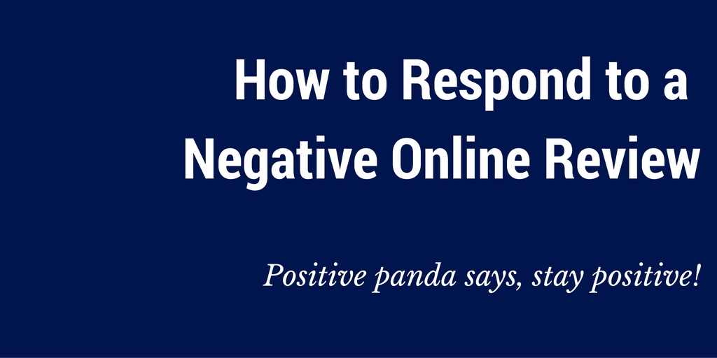 negative feedback and online review
