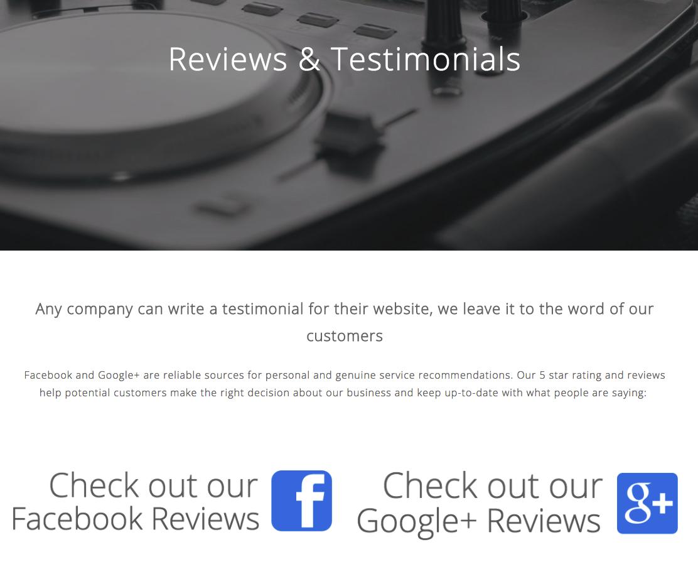 14 inspiring ways to showcase customer testimonials online glasshat small business marketing ideas reviews thecheapjerseys Images