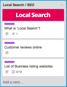 small business marketing local seo