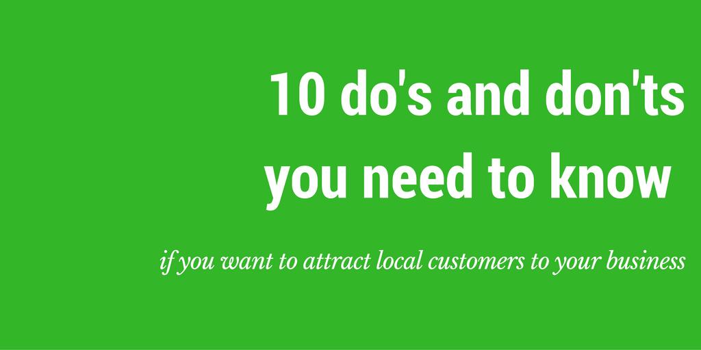 local area marketing small business