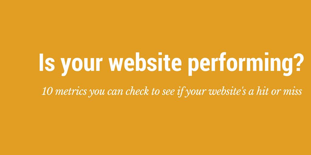 check website performance