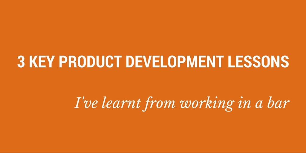 product development lessons