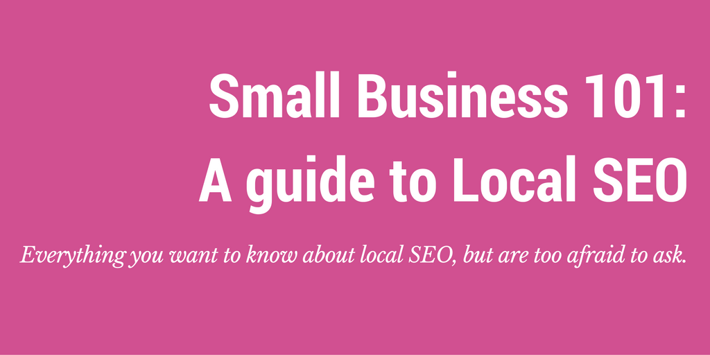 local seo small business guide